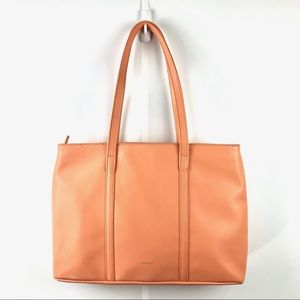 Matt & Nat Extra Large Travel Tote Bag in Apricot